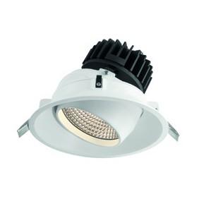 El faro de la Colección de Wiva redondo Blanco LED de 27W 3000K cálida luz 41100078