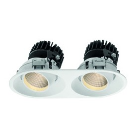 Lighthouse Collection Wiva Round White LED 15W...