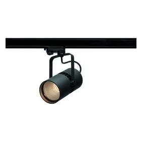 Faretto Wiva da parete Nero a LED 27W 3000K luce calda 41200014