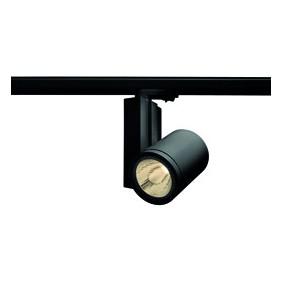 Faretto Wiva da parete Nero a LED 40W 3000K luce calda 41200038