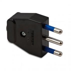 Plug Master 2x16A+T color black 05160