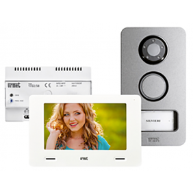 Kit videophone Urmet single family with a referral call 1722/858
