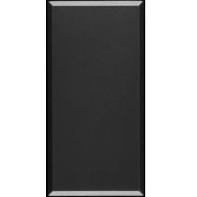 Copriforo Ave Tekla 1 modulo colore nero 445013
