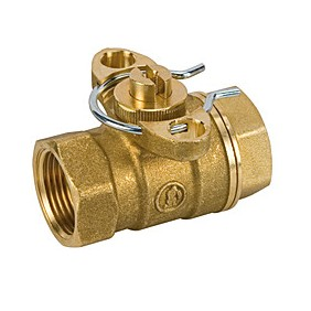 Valve Giacomini ball zone, two-way female 3/4 R276Y004