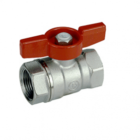 Valve Giacomini attacks F-F 3/4 butterfly handle red R251X004
