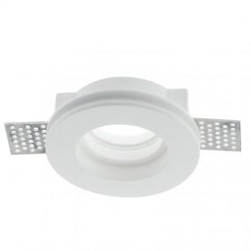 Spotlight Fan Europe-recessed plaster round White INC-SPIRIT-R1