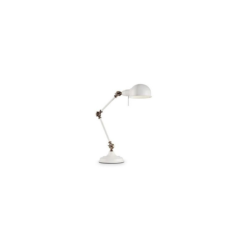 Lampada da tavolo ideal lux truman tl1 bianca 1xe27 ip20 - Ideal lux lampade da tavolo ...