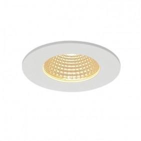 Faretto ad incasso SLV Patta LED 3000K ,bianco opaco IP65 800 lumen 114421
