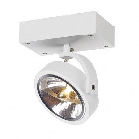 Lámpara de pared/techo SLV Kalau ronda, blanco mate, max 50W 147251