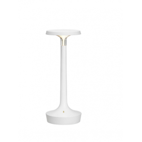 Lampada da tavolo Flos Bon Jour Unplugged ricaricabile bianca LED 2.5W F1037009