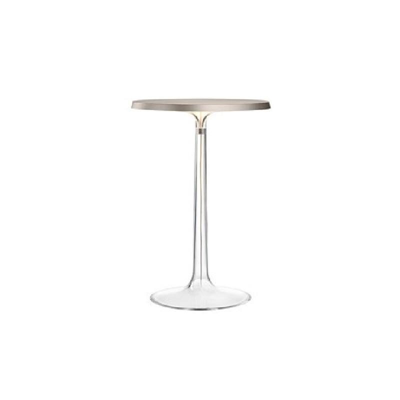 Lampada da tavolo flos bon jour cromata opaca led 13w for Lampada tavolo flos