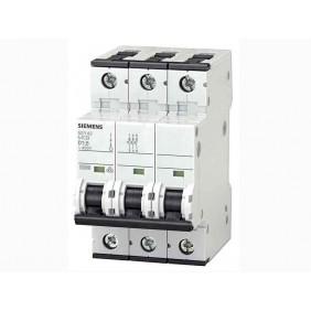 Interruttore Magnetotermico Siemens 3P 32A 10kA Tipo C 3 Moduli
