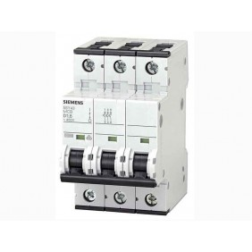 Circuit breaker Siemens 3P 32A 10kA C Type 3 Modules