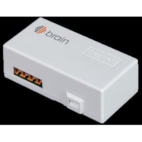 Misuratore radio Brain Beghelli bianco per quadro elettrico max 6kW 81295