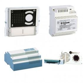 Kit básico del sistema, Video portero, Comelit 2 alambre de botón pulsador del panel de ikall 8000