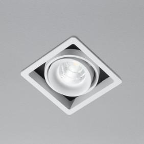 Faretto AqLus Flo incasso orientabile LED 10W 3000k bianco A5-670.10.30.08