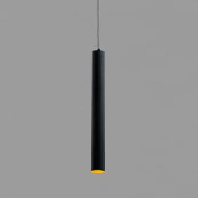 Sospensione AqLus Mery LED 7W 3000k nero oro A86500503002AN13