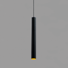 Suspensión AqLus Mery LED 7W 3000k oro negro A86500503002AN13