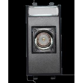 Outlet Ave Tekla TV/SAT female F connector color black 445096F