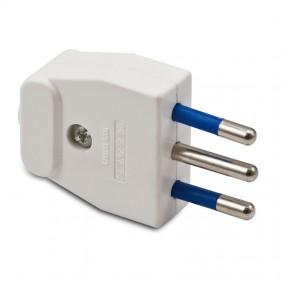 Spina elettrica 2+T 10A 05121