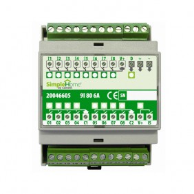 Module Comelit Simplehome 9 inputs and 8...