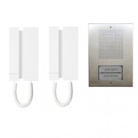 Kit Intercom Comelit a 5 fili bifamiliare mini extra KAE5062