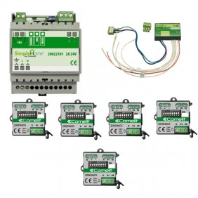 Kit Comelit home automation for the management of the 5 shutters 20001016