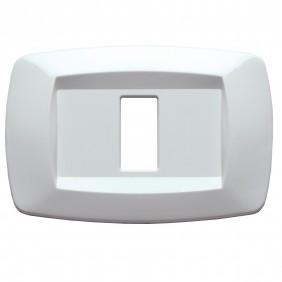 Master Modì for Bticino 1 module white plate MD101