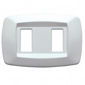 Master Modì for Bticino plate 2 modules white...