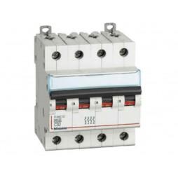 BTICINO INTERRUPTOR de circuito de 4 POLOS, 10A C 10kA CURVA FH84C10