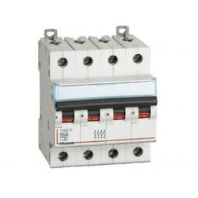 BTICINO circuit BREAKER, 4-POLE 10A C CURVE 10kA FH84C10