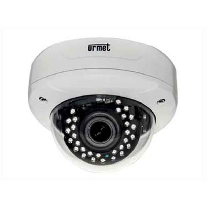 Telecamera IP Urmet Minidome AHD 1080P con ottica 2,8-12mm alta definizione