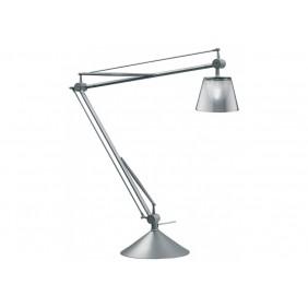 Lampada da tavolo Flos Archimoon K attacco G9 alluminio/argento F0369000