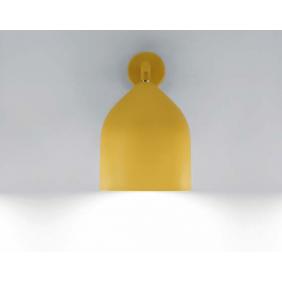 Applique Lumen Center Italia Odile senape 1XE27 IP20 diametro 20 mm ODI21127