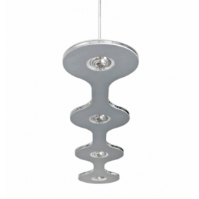 Sospensione Lumen Center Italia Flat 04 alluminio LED 25.2W FLA0417227