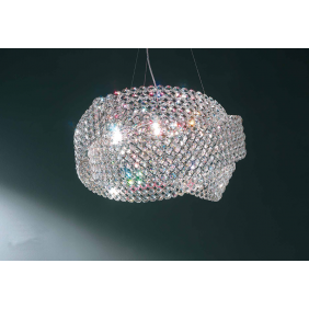 Suspension Marchetti Diamante Swarovski LED 30W...