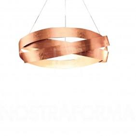 Sospensione Marchetti Pura foglia rame LED 24W IP20 055.325.65.22