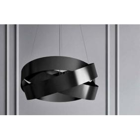 Sospensione Marchetti Pura foglia nera LED 24W 3000K IP20 055.325.65.35