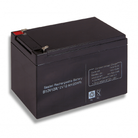 Lead acid battery 12V 12Ah Cobat Included B12V12A