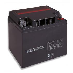 Lead acid battery 12V 40Ah Cobat Included B12V40A