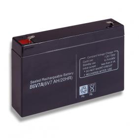 Batteria al piombo 6V 7Ah Cobat Incluso B6V7A