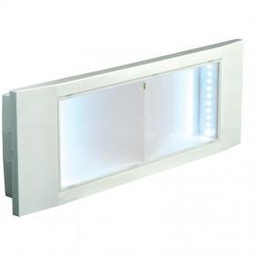 BEGHELLI LAMP EMERGENCY DESIGN LED 8W 1 HOUR 4259