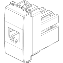 VIMAR EIKON NEXT PRESA TELEFONICA RJ11 20320.N