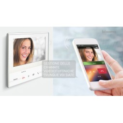 Kit Videocitofono Bticino Classe 300X13E WiFi con segreteria e pulsantiera 3000 363911