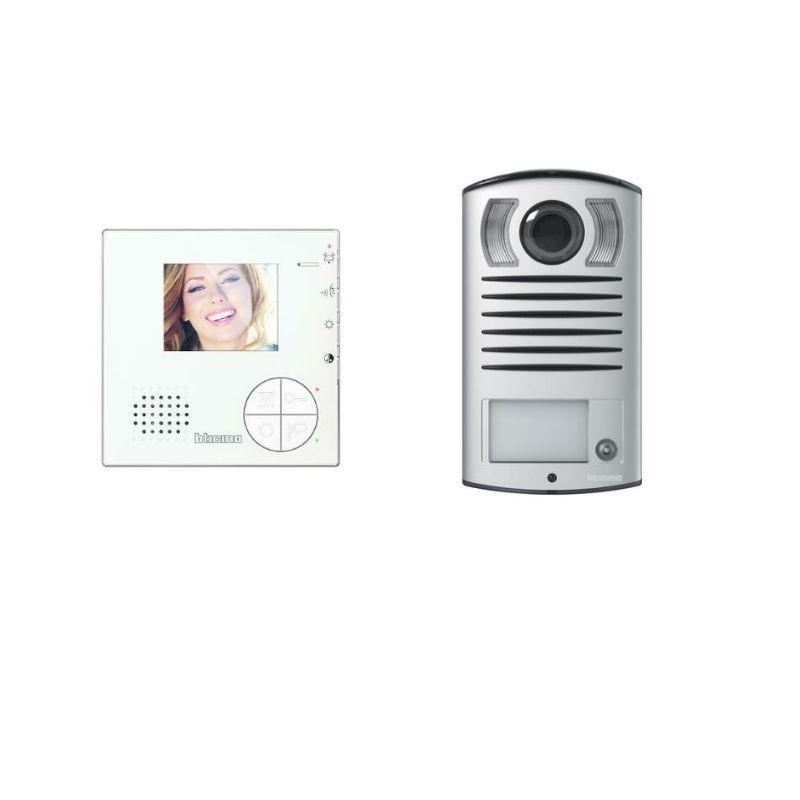 Kit Videocitofono Bticino Monofamiliare 2 Fili Viva Voce Classe 100V12B 365511