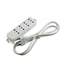 Multipresa Master 4 uscite bivalenti 16A bianca 70450