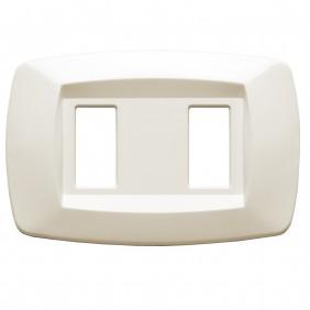 La placa Master formas de 2 plazas de marfil MD282