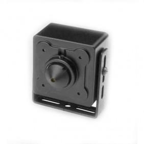 Telecamera Hiltron pinhole IP 1Mp 3,6 mm conico per 4 aree 12Vdc THC1036IPP