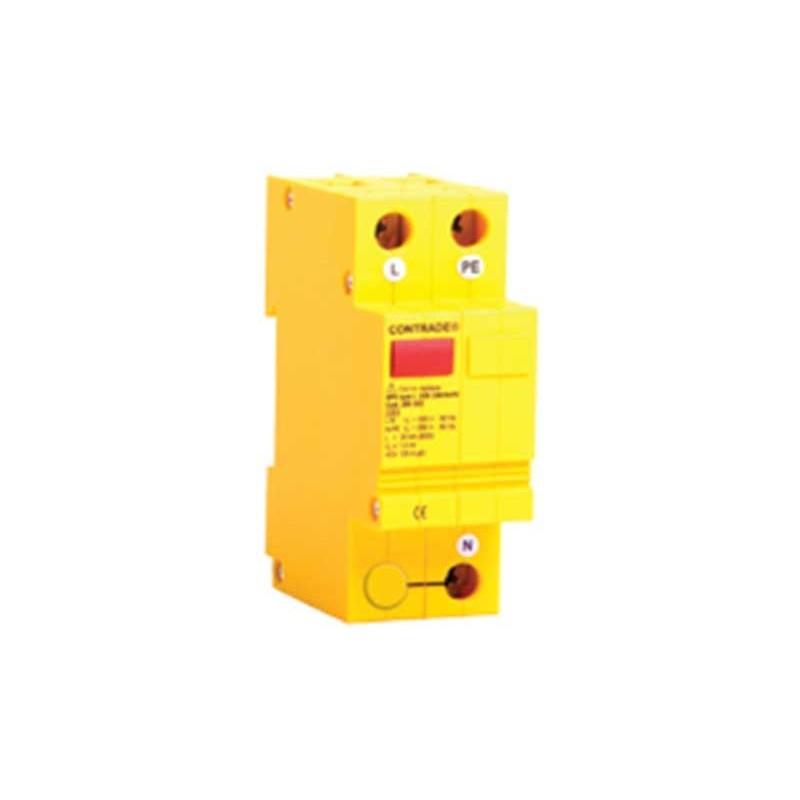 Scaricatore di sovratensione contrade per uso domestico spd 20kA classe 2 1,55kV