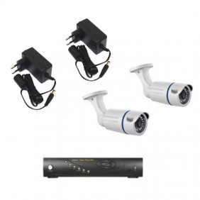 Kit video surveillance BPT with a vcr and two cameras 64811590